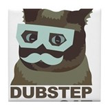 Dubstep Cat Tile Coaster
