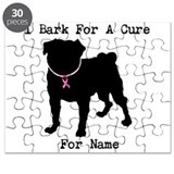 Pug Personalizable Bark For A Puzzle