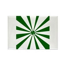 Shamrock Stripe Rectangle Magnet