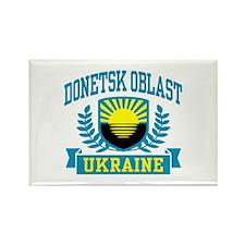 Donetsk Oblast Rectangle Magnet