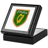 O'Malley Family Crest Keepsake Box