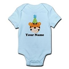 Personalized Birthday Tiger Infant Bodysuit