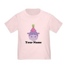 Personalized Birthday Hippo T