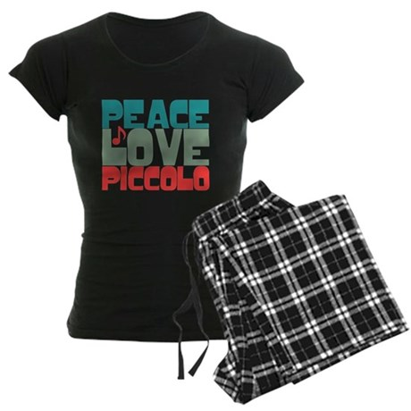 Peace Love Piccolo Women's Dark Pajamas