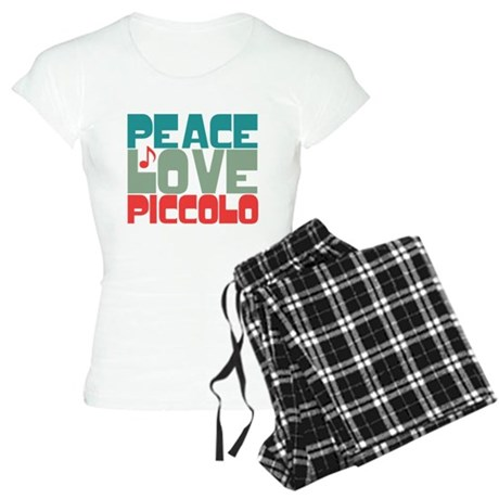 Peace Love Piccolo Women's Light Pajamas