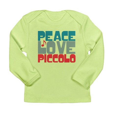 Peace Love Piccolo Long Sleeve Infant T-Shirt