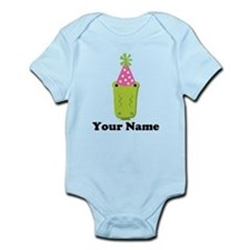 Personalized Birthday Crocodile Infant Bodysuit