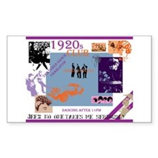 Roaring twenties dream club Decal