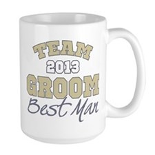 Team Groom 2013 Best Man Mug