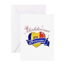 Moldovan Princess Greeting Card