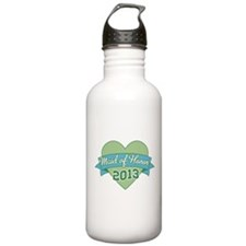 Heart Maid of Honor 2013 Water Bottle
