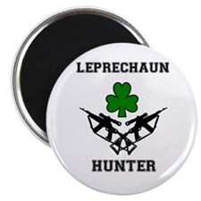 Leprechaun Hunter Magnet