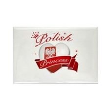 Polish Princess Rectangle Magnet (100 pack)