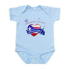 Puertorican Princess Infant Bodysuit