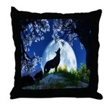 Cool Animals Throw Pillow