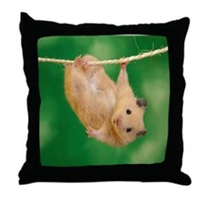 Unique Hamsters Throw Pillow