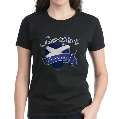 Scottish Princess Women's Dark T-Shirt