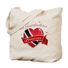 Trinidadian Princess Tote Bag