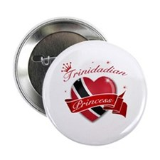"Trinidadian Princess 2.25"" Button (10 pack)"