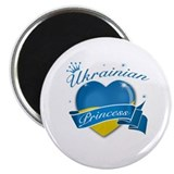 Ukraine 2.25&quot; Round Magnet (10 pack)