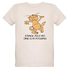 Dancing Cat Organic Kids T-Shirt