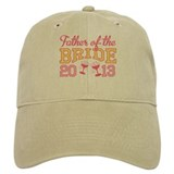 Father Bride Champagne 2013 Baseball Cap