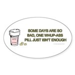 1000MGWHUPASS Sticker (Oval 10 pk)