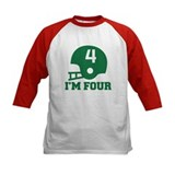 Four Year Old Football Tee