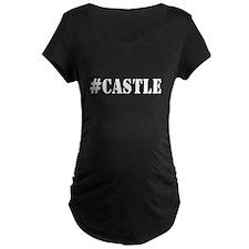 Hashtag Castle Maternity Dark T-Shirt