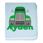Trucker Ayden baby blanket