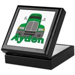 Trucker Ayden Keepsake Box