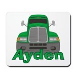 Trucker Ayden Mousepad