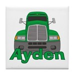 Trucker Ayden Tile Coaster