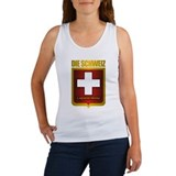 """Swiss Gold"" Women's Tank Top"