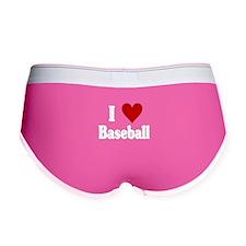 I Love Baseball Women's Boy Brief