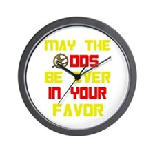 May the odds ever in your fav Wall Clock