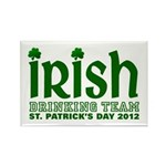Irish Drinking Team 2012 Rectangle Magnet