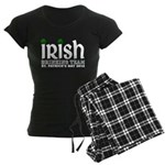 Irish Drinking Team 2012 Women's Dark Pajamas
