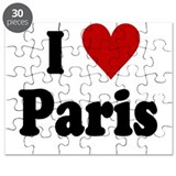 I Love Paris Puzzle