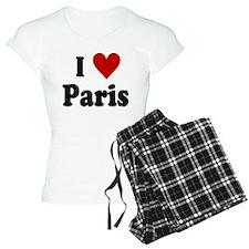 I Love Paris Pajamas