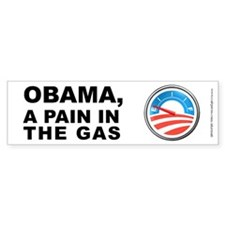 Obama Pain In Gas, Bumper Sticker