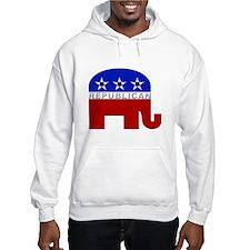 Republican Elephant Logo - Hoodie