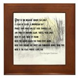 Song For Rue Framed Tile
