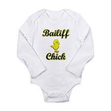 Bailiff Chick Long Sleeve Infant Bodysuit