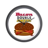 BaconDoubleCHEESE! Wall Clock