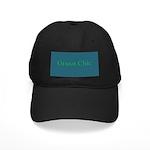 Green Chic Black Cap