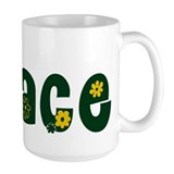 Flower Power Coffee Mug 15oz