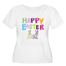 Cute Bunny Happy Easter 2012 T-Shirt