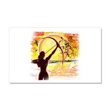 Katniss Radiant as the Sun Car Magnet 20 x 12