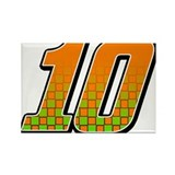 DP10flag Rectangle Magnet (100 pack)